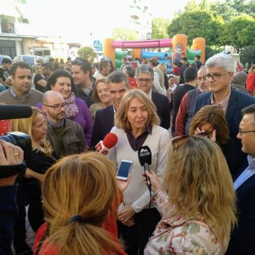 EL PSOE INICIA LA CAMPAÑA EN SAN PEDRO REIVINDICANDO LAS MEDIDAS SOCIALES DEL GOBIERNO DE PEDRO SÁNCHEZ