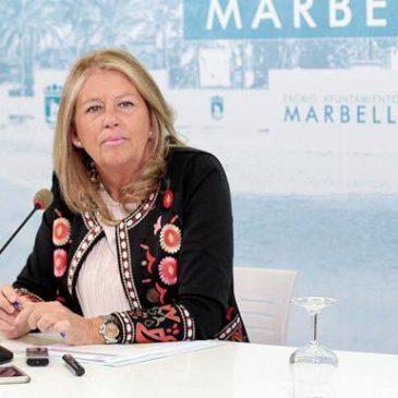 """La alcaldesa destaca que el desbloqueo de las obras de ampliación del Hospital Costa del Sol demuestra la voluntad política del nuevo Gobierno andaluz para ejecutar un """"proyecto esencial"""" para la ciudad"""