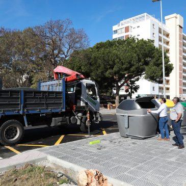 El Ayuntamiento extiende la instalación de  contenedores de carga lateral con un millar de unidades en Nueva Andalucía, Las Chapas y nuevos puntos de Marbella y San Pedro Alcántara