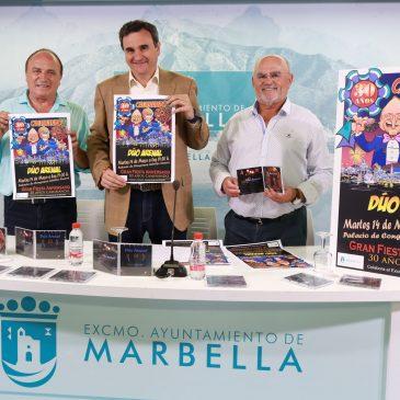 El Dúo Arenal celebrará sus 30 años de trayectoria musical con una fiesta aniversario el próximo 14 de mayo en el Palacio de Congresos Adolfo Suárez