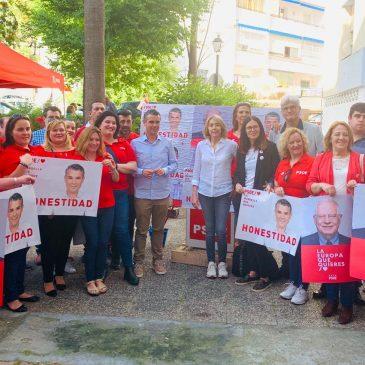 """EL PSOE COMIENZA UNA CAMPAÑA """"EN POSTIVO, CENTRADA EN LOS BARRIOS Y CON LA CERTEZA DEL REGRESO A LA ALCALDÍA"""""""