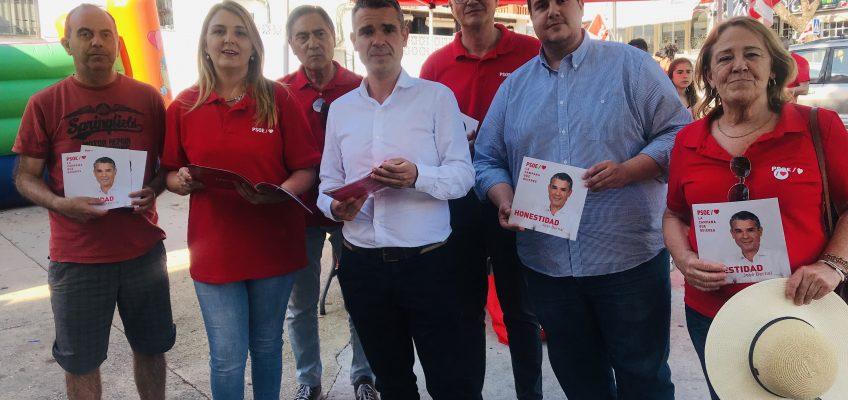 EL PSOE PROPONE ACOMETER EN LA CAMPANA LAS OBRAS QUE QUEDARON PENDIENTES CON LA MOCIÓN DE CENSURA