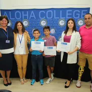 Sabrina Savoy, Mario Macía y Jesús Ríos consiguen tres becas deportivas del Aloha College en colaboración con el Ayuntamiento