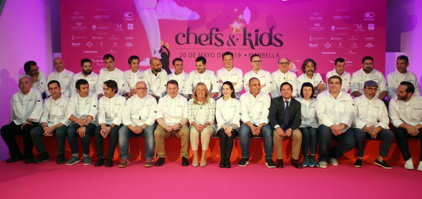 """La alcaldesa reivindica en la apertura del Chefs&Kids """"la gastronomía como un valor añadido para el turismo, ámbito en el que Marbella es un gran referente"""""""