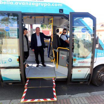 La nueva Línea 7 de autobús conecta el Centro de Salud de San Pedro Alcántara con Las Medranas y Las Petunias  Los ciudadanos empadronados en el municipio podrán, además, disfrutar del servicio de autobús gratuito gracias a la nueva Tarjeta de Movilidad que ha entrado en vigor el día 1 de mayo
