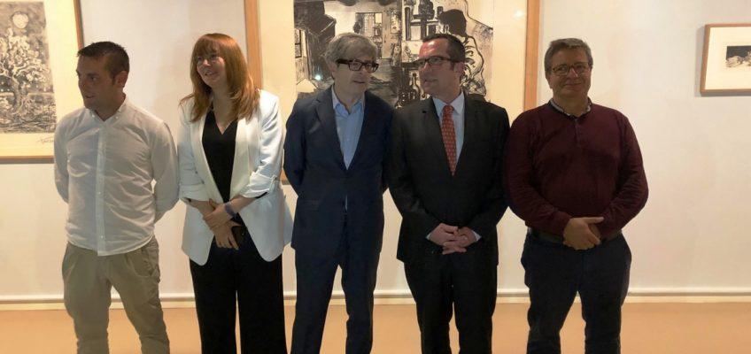El Museo del Grabado Español Contemporáneo expone una selección de obras de Picasso, Vilató y Xavier en la pinacoteca de la localidad natal de Goya