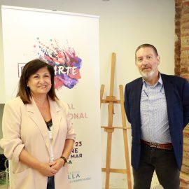 La avenida del Mar acogerá del 20 al 23 de junio la primera edición del 'FestiArte', con la participación prevista de un centenar de artistas internacionales