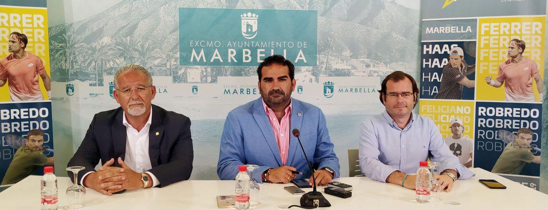 Marbella acogerá el 27 y 28 de septiembre la cuarta edición de la Senior Masters Cup con la participación de David Ferrer, Feliciano López, Tommy Robredo y Tommy Haas