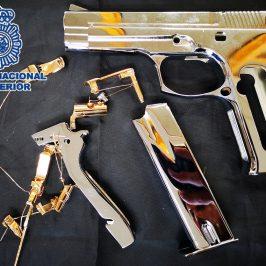 """En Campanillas (Málaga) La Policía Nacional desarticula una red especializada en la """"canibalización"""" de armas de fuego para su posterior venta en el mercado ilícito"""
