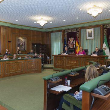 El Pleno da luz verde a modificaciones presupuestarias por casi 10 millones de euros para actuaciones de interés público y para gasto social y de personal