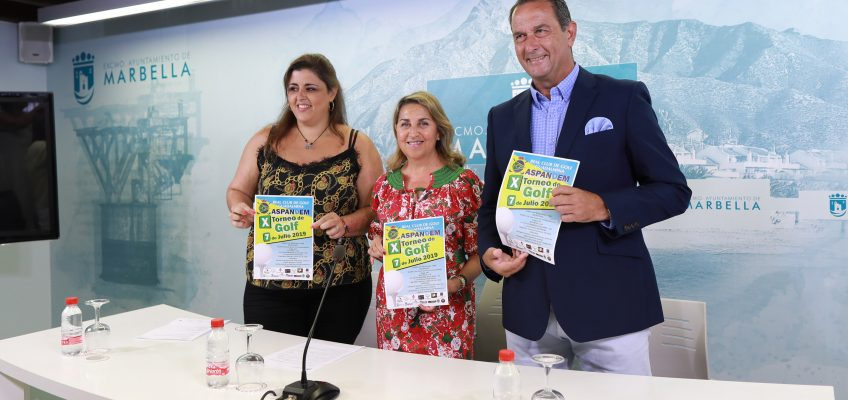 El X Torneo de Golf a beneficio de Aspandem se disputará el 7 de julio en el Real Club de Golf Guadalmina