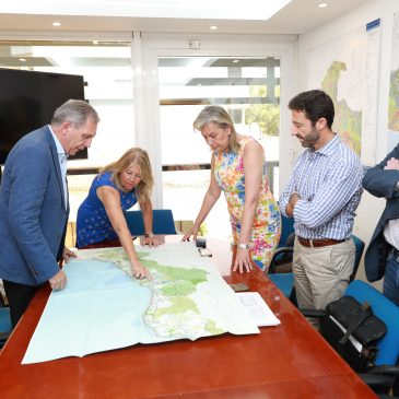El nuevo Plan de Ordenación del Territorio de la Costa del Sol tendrá en cuenta los criterios del Ayuntamiento de Marbella en su elaboración