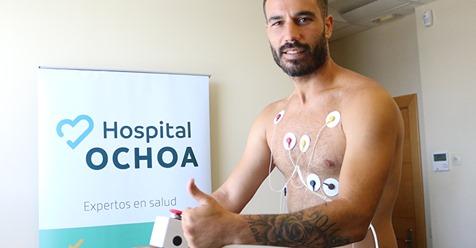 El Marbella FC arranca la nueva temporada en Hospital Ochoa Hospital Ochoa ha sido, por tercer año consecutivo, el centro médico elegido por el Marbella FC para que sus jugadores realicen las distintas pruebas médicas necesarias antes de comenzar la nueva temporada.
