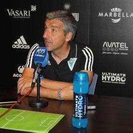 """El Marbella F.C. afronta con """"muchas ganas"""" su estreno liguero ante el Talavera"""