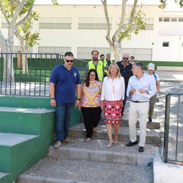 El Ayuntamiento acomete obras en el CEIP Miguel Hernández para habilitar cuatro aulas de forma urgente de cara al inicio del curso escolar y solventar al mismo tiempo una serie de deficiencias detectadas