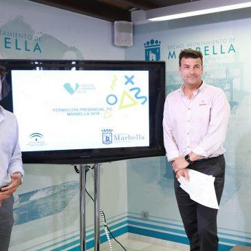 Marbella acogerá cuatro cursos y talleres gratuitos de capacitación en Tecnologías de la Información y la Comunicación para fomentar la empleabilidad