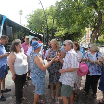 Entra en funcionamiento una nueva línea de autobús urbano que une Bello Horizonte con La Cañada a través del centro de Marbella y la barriada Miraflores