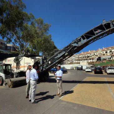 El Ayuntamiento mejora la seguridad vial en el Camino de El Ángel con la rehabilitación de más de un kilómetro de asfalto