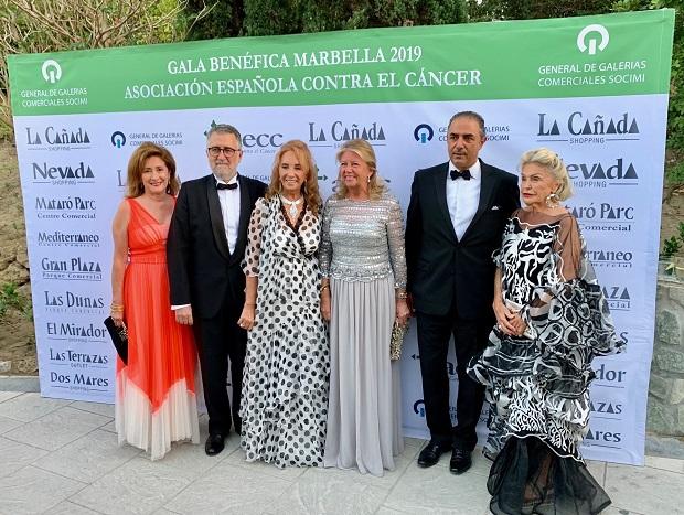 La AECC vuelve a sacar el lado más solidario de Marbella en su XXXVI Gala Benéfica