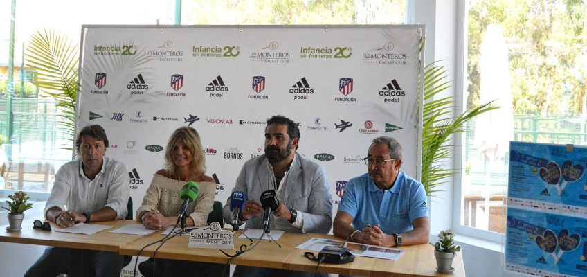 El Hotel Los Monteros acogerá el V Torneo de Pádel y I de Tenis a favor de Infancia sin Fronteras
