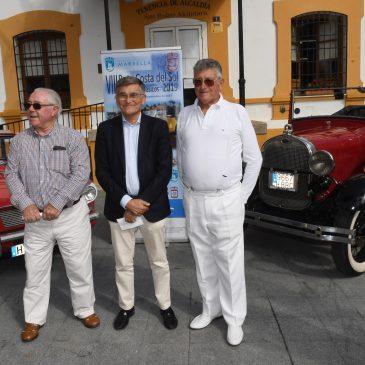 La VIII Ruta Costa del Sol de Vehículos Clásicos reunirá en la ciudad desde este viernes a 40 coches de época