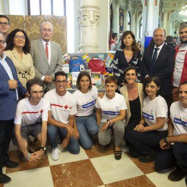 Fiel a su compromiso con las necesidades de la infancia en situación de vulnerabilidad Fundación Solidaridad Carrefour y Cruz Roja ponen en marcha la 'Vuelta al Cole Solidaria' a favor de la infancia en riesgo social de Málaga