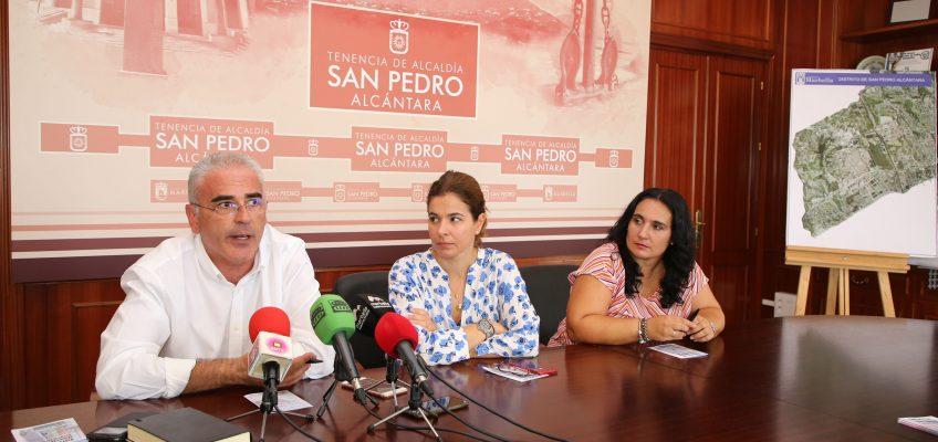 La Tenencia de Alcaldía de San Pedro Alcántara apoya un año más la iniciativa de la Tarjeta de Descuento Escolar de Apymespa La medida tiene como objetivos ofrecer descuentos en una veintena de establecimientos sampedreños y potenciar el comercio local