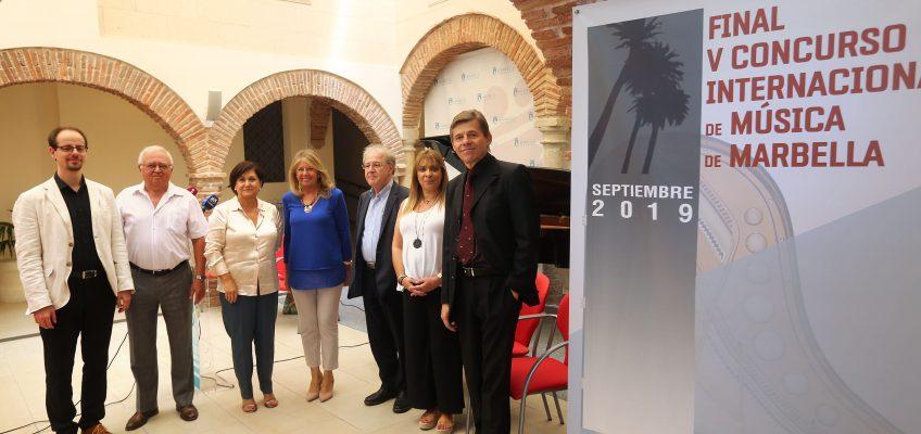 El 'V Concurso Internacional de Música de Marbella' contará con un prestigioso jurado internacional